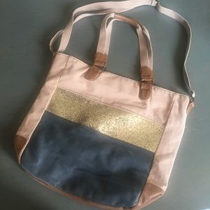 American Eagle Outfitters Canvas Tote/ Satchel